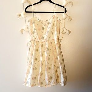 MNG by Mango dainty floral dress